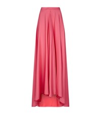 Lanvin Kick Pleat Maxi Skirt Female Pink