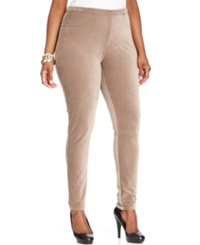 Style And Co. Plus Size Corduroy Leggings Rye
