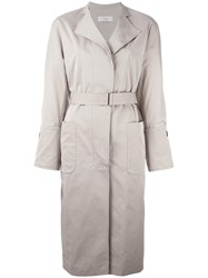 System Belted Trench Coat Nude Neutrals