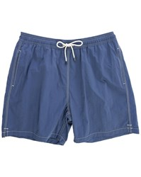 Hackett Navy Solid Volley Swim Shorts
