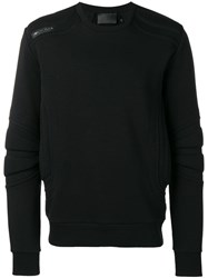 Philipp Plein Crew Neck Jumper Black