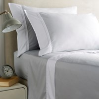 Christy Hotel Sheet Set Silver King