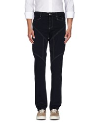 9.2 By Carlo Chionna Trousers Casual Trousers Men Dark Blue