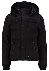 Khujo Burd Winter Jacket Peached Black