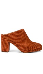 Soludos Brooke Mule In Rust. Adobe