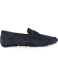 Hogan Penny Loafers Blue