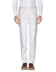 Alessandro Dell'acqua Casual Pants White