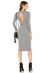 Candc California Willa Dress Grey