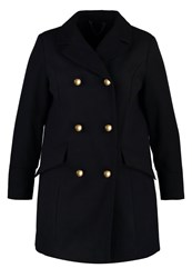 Evans Classic Coat Navy Blue Dark Blue