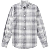Norse Projects Osvald Light Check Shirt Blue