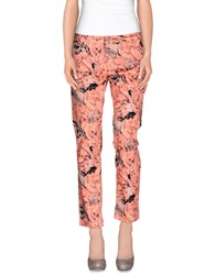 Conte Of Florence Trousers Casual Trousers Women Salmon Pink