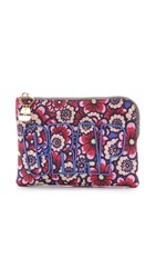 House Of Holland Floral Nylon Pouch