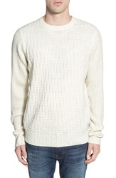 Men's Bellfield Textured Crewneck Sweater