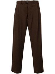Casey Casey Wide Leg Trousers Brown
