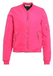 Noisy May Nmspace Universe Bomber Jacket Pink Glo Ombre Blue Neon Pink