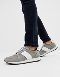 Ted Baker Lhennis Trainers In Grey