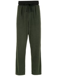 Osklen Straight Fit Trousers Green