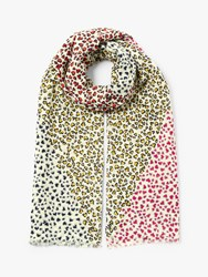 John Lewis Collection Weekend By Sweetheart Oblong Cotton Scarf Multi