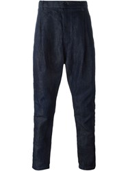 Sacai Drop Crotch Denim Trousers Blue