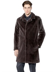 Larusmiani Shaved Mink Fur Coat