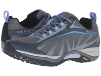 Merrell Siren Edge Waterproof Monument Women's Lace Up Casual Shoes Gray