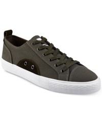 Guess Provo Low Top Sneakers Shoes Olive