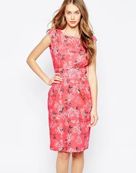 Trollied Dolly Neat And Chic Dress Pink
