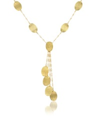 Torrini Lenticchie Moving 18K Yellow Gold Drop Necklace