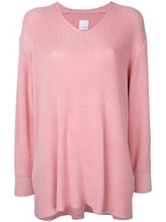 Cityshop Slouchy Sweater Pink Purple