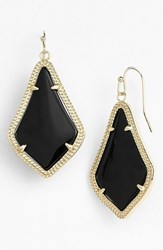 Women's Kendra Scott 'Alex' Drop Earrings Black