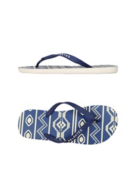 Selected Thong Sandals Blue