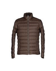 Milestone Coats And Jackets Down Jackets Men Dark Brown