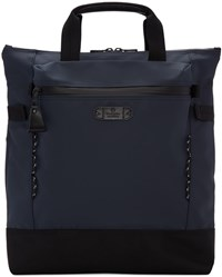 Master Piece Co Navy Zip Pouch Tote Bag