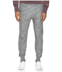 Todd Snyder Wool Blend Slim Sweatpants Light Grey Men's Casual Pants Gray