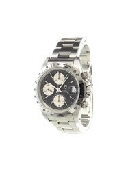 'Tudor Tiger Prince' Analog Watch Stainless Steel