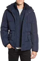 Marc New York Men's By Andrew Vinalhaven Quilted Down And Feather Fill Jacket Ink