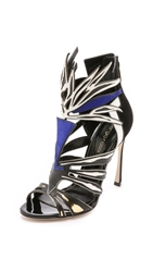 Sergio Rossi Multi Colored Heels