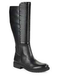 William Rast Winona Leather Boots Black