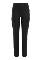 Marc By Marc Jacobs Wool Pants With Pockets Black