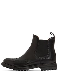 Church's 20Mm Aura Brogue Leather Boots Black