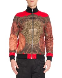 Givenchy Money Full Zip Track Jacket Red