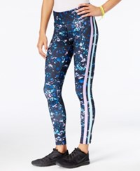 Jessica Simpson The Warm Up Juniors' Printed Leggings Midnight Garden