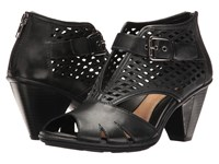 Earth Virgo Black Soft Leather Women's Shoes
