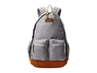 Rvca Crescent Backpack Grey Heather Backpack Bags Gray