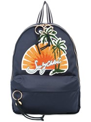 See By Chloe Sunset Backpack Blue