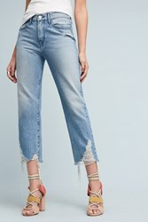Anthropologie 3X1 Nyc Higher Ground High Rise Boyfriend Crop Jeans Denim Light