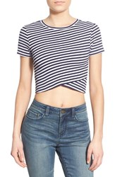 Women's Bp. Wrap Front Crop Tee