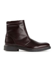 B Store 'Danny' Ankle Boots Red