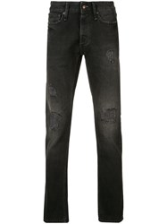 Denham Jeans Distressed Black