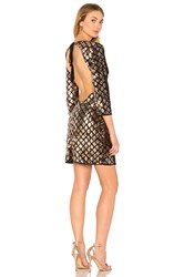 Wyldr Dancing In The Dark Dress Metallic Bronze